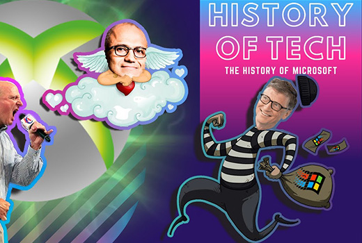 image representing The History of Tech | Evolution of Microsoft