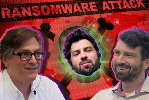 image representing Tech Talks Unscripted | Behind the Scene of The Ransomware Episode